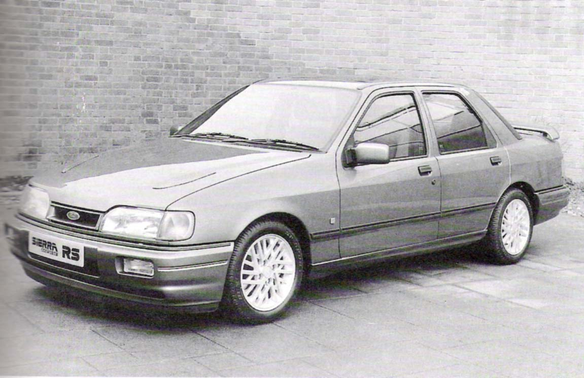 The first Sierra Cosworth 4